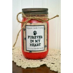 FUREVER IN MY HEART CANDLE