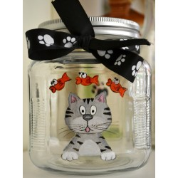 Cat Treat Jars